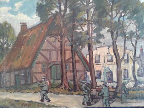 German Soldiers on Bremen Road
