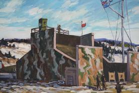 AC Firing Butts RCAF Detachment for Sub Patrol -Bay of Fundy