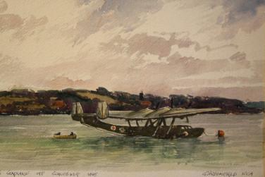 German Seaplane off Schleswig