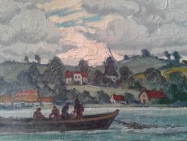 Schlei Fishermen, Schleswig, Germany