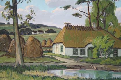 Danish Farm Near Kolding