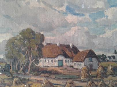Danish Farm Village, Harvest