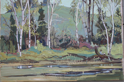 Winchel Price, Spring Painting, Clarkson