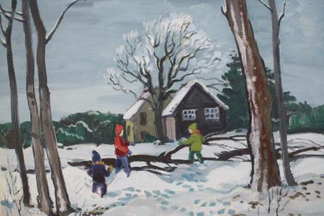 Children Playing at Brackenwood