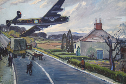 Evening 1943 Great Road North