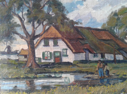 Dutch Farm House near Breda, Holland