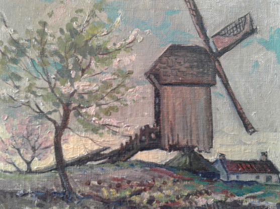 Windmill near Breda, Holland