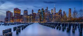 Manhattan Skyline by Chris R