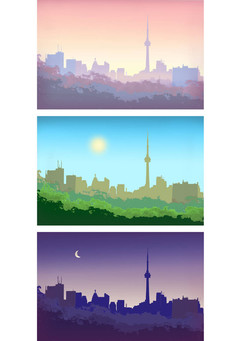 Morning, Noon and Night by Dave S