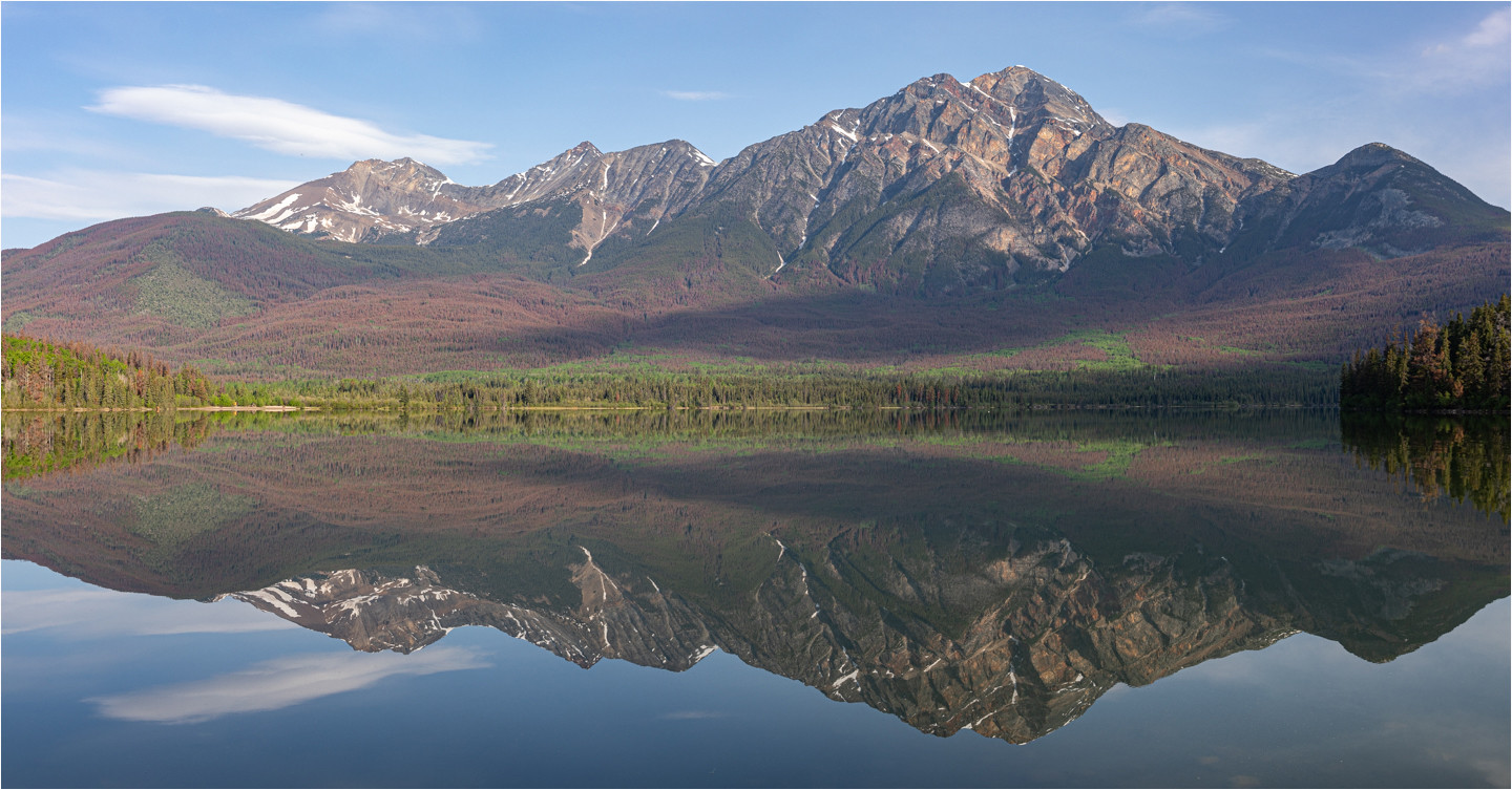 Rockies Reflection by Mark B