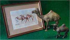 Camel Caravan by Gillian M