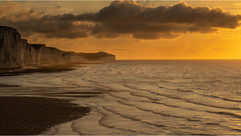 Sunrise at Seven Sisters by Chris R
