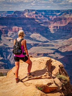 Looking out from Ooh Aah Point by Chris R