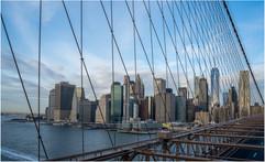Manhattan from Brooklyn Bridge by Chris R