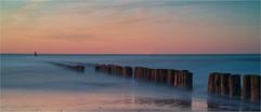 Sunset at Cadzand Beach by Chris R