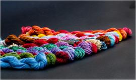 Embroidery silks by David M