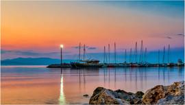 Sunrise Ypsos - Corfu by Chris R