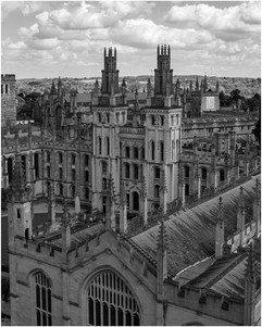 The Twin Towers of All Souls College by Chris R