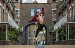Street ballet by Roshan R