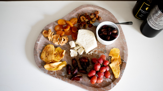 Tennessee Marble Cheese Platter