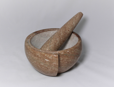 Tennessee Marble Mortar & Pestle