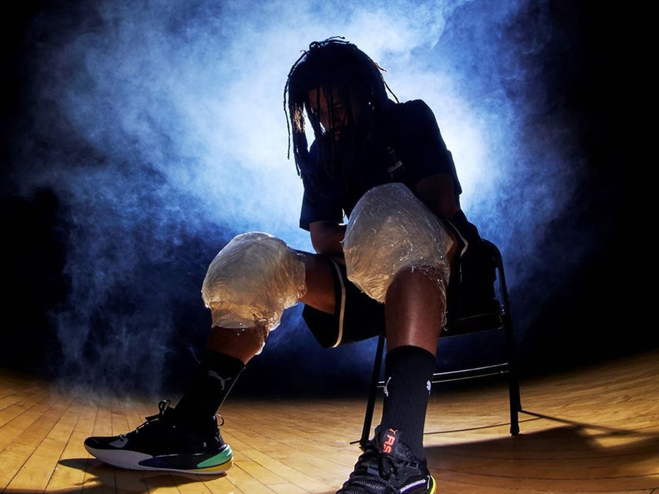 Dropping PUMA's First Signature Shoe with J.Cole