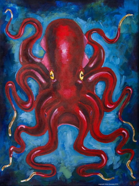 The Red Octopus