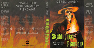 Skulduggery Pleasant Book Jacket