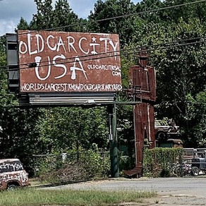 Cartersville, GA: Rusty Cars and Rustic Diners