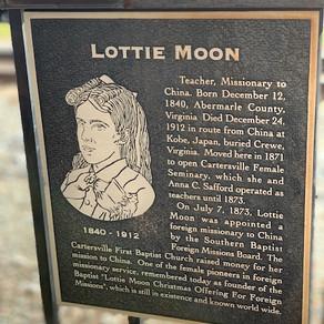 Cartersville, Georgia and Lottie Moon