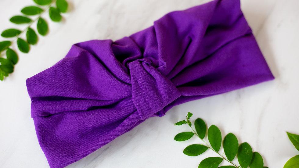 Purple Royale Tarboosh