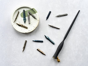 MY GUIDE TO CALLIGRAPHY NIBS