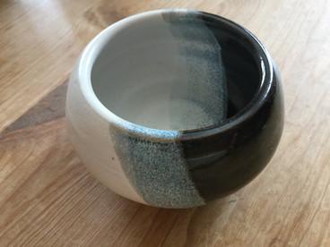 Pot à succulente Black & White