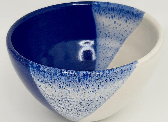 Bolée bleu/blanc
