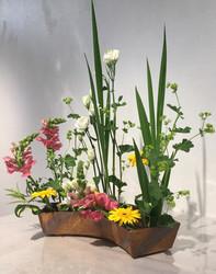 Contenant Ikebana (expo Vannes)
