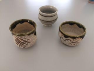 Shots à Saké décor traditionnel