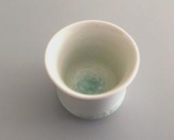 Tasse Porcelaine Crakle Lagon