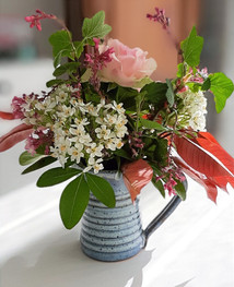 Pichet détourné en mode vase