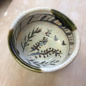Bol à thé traditionnel Oribe