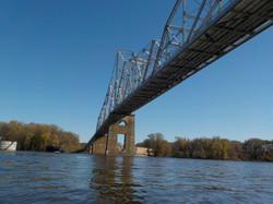 Bridge of the river