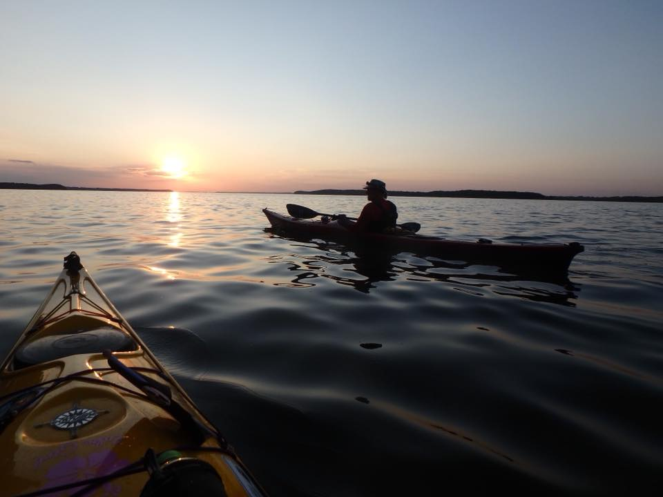 Paddle into the night
