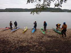Gearing up for paddling