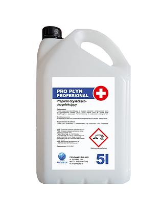Płyn dezynfekujący PRO 5l