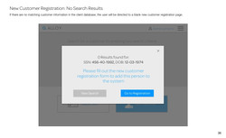 New Customer Registration_ No Search Results