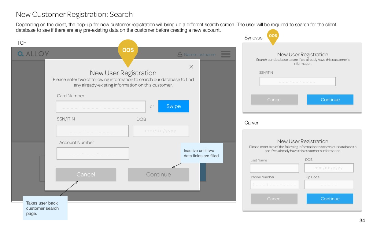 New Customer Registration_ Search