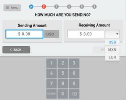 Send Amount