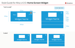 Alloy 2.0 UI Style Guide_Home Screen Widget