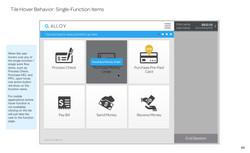 Tile Hover Behavior_ Single-Function Items