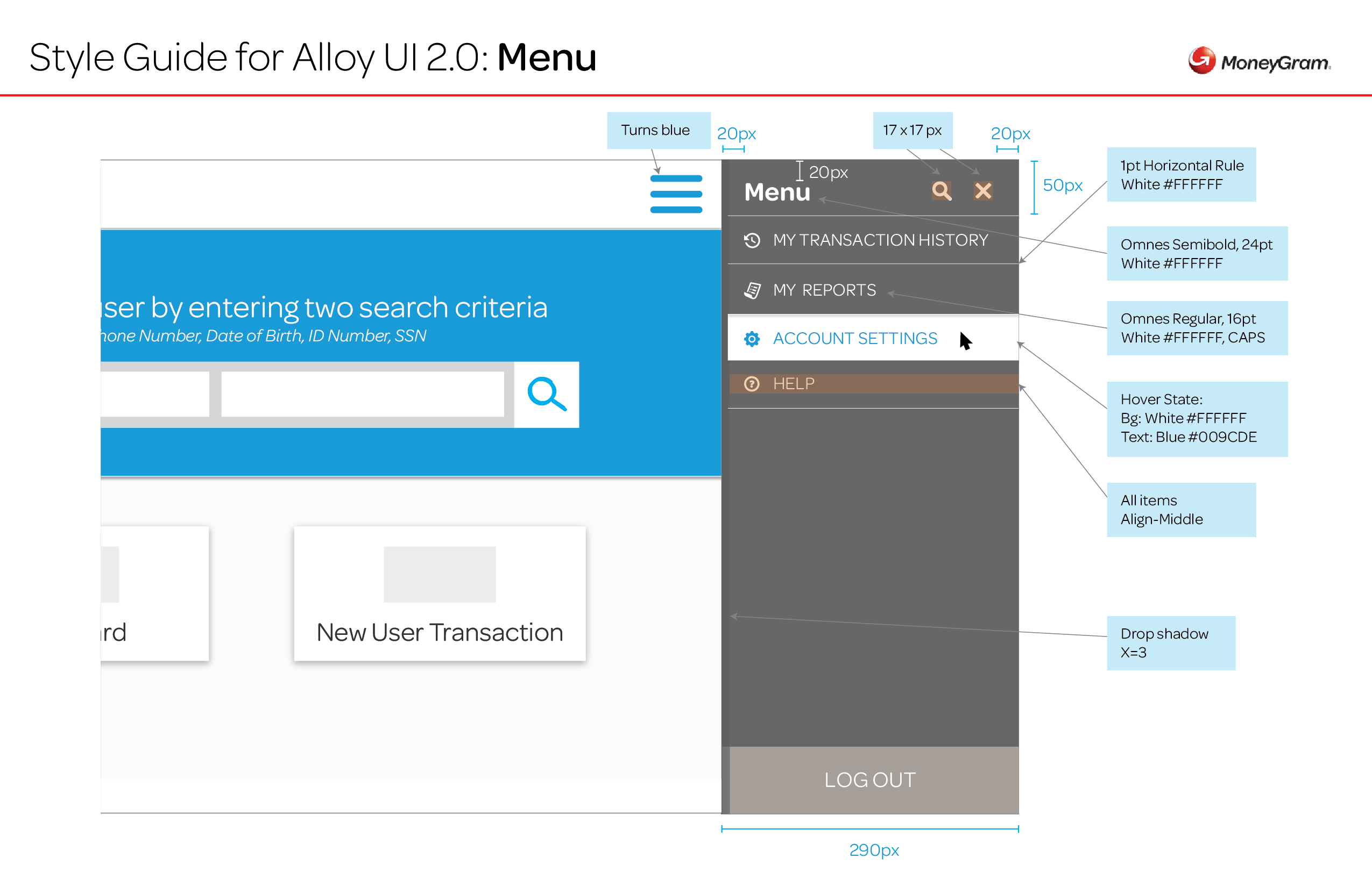 Alloy 2.0 UI Style Guide_Menu