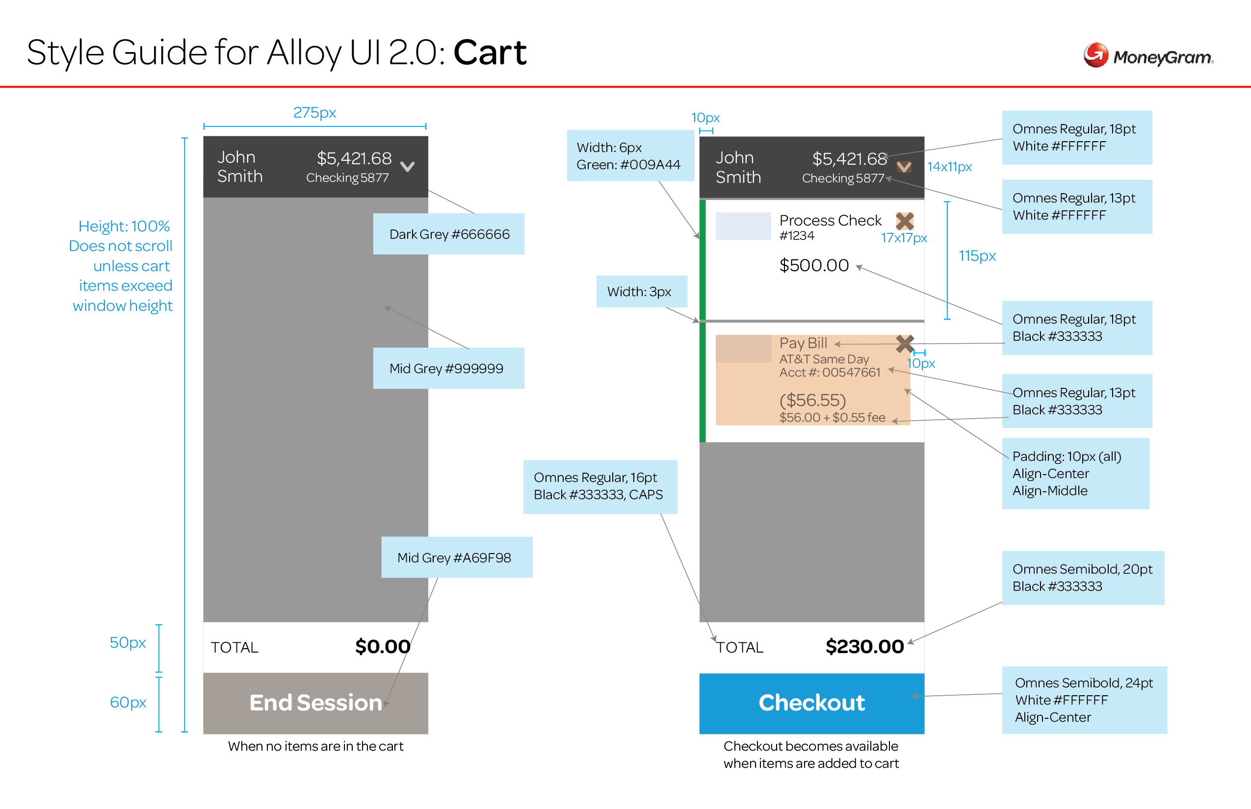 Alloy 2.0 UI Style Guide_Cart